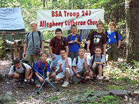 July - Hawk Mountain Scout Reservation