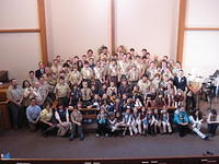February - Scout Sunday at AELC